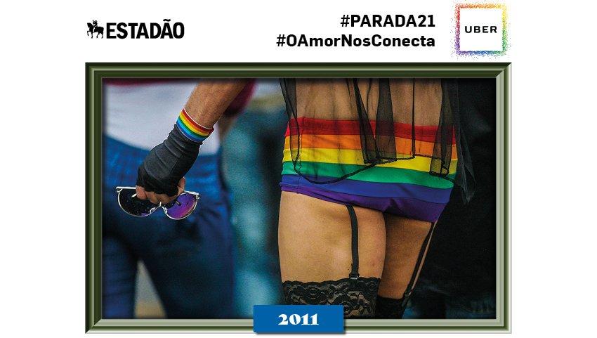 @anadonutcare Olá! Você está celebrando a #paradasp com a gente! Para ver mais fotos históricas tuíte #parada21