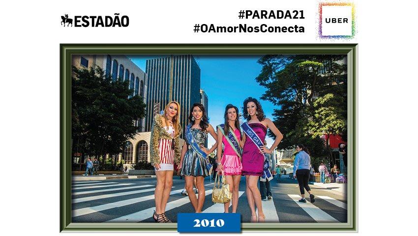 @_brendias Olá! Essa é uma das fotos históricas dentre as 20 edições da Parada do Orgulho LGBT SP #paradasp