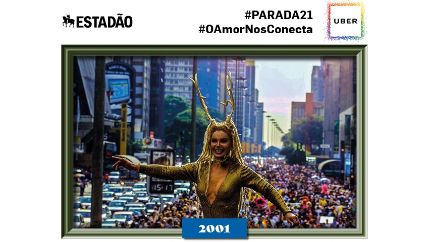 @GeaneEvelly Parabéns! Você está comemorando a 21ª Parada LGBT SP através de nossas fotos históricas #paradasp