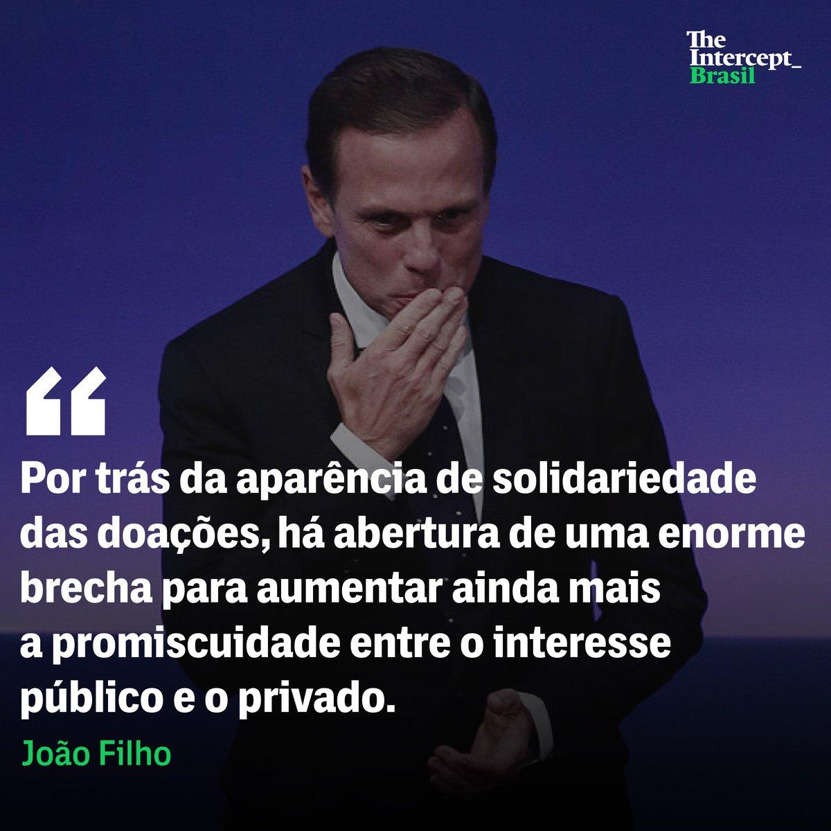 No governo das aparências de João Doria, quem mais sai ganhando são as grandes empresas. https://t.co/FjvPzZ8uL8