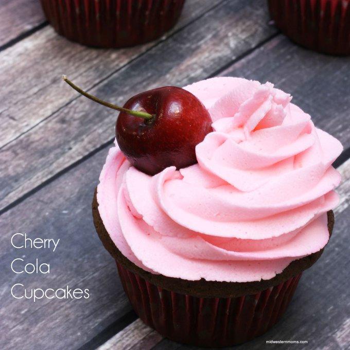 Cherry Cola Cupcakes Recipe