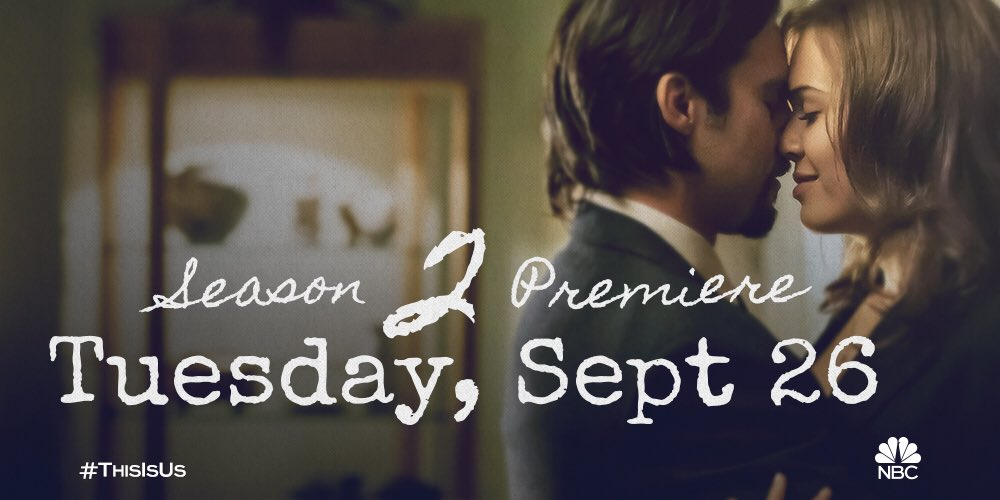 We finally got our date so lets make a date ...for Sept 26th. See you therrre. #ThisIsUs