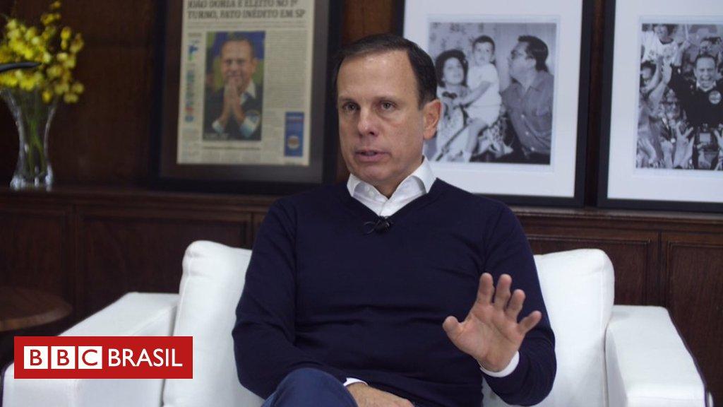 Doria diz que gostaria de ver 'gestor' na Presidência e minimiza ascensão de Bolsonaro https://t.co/j4osiM0Pk0