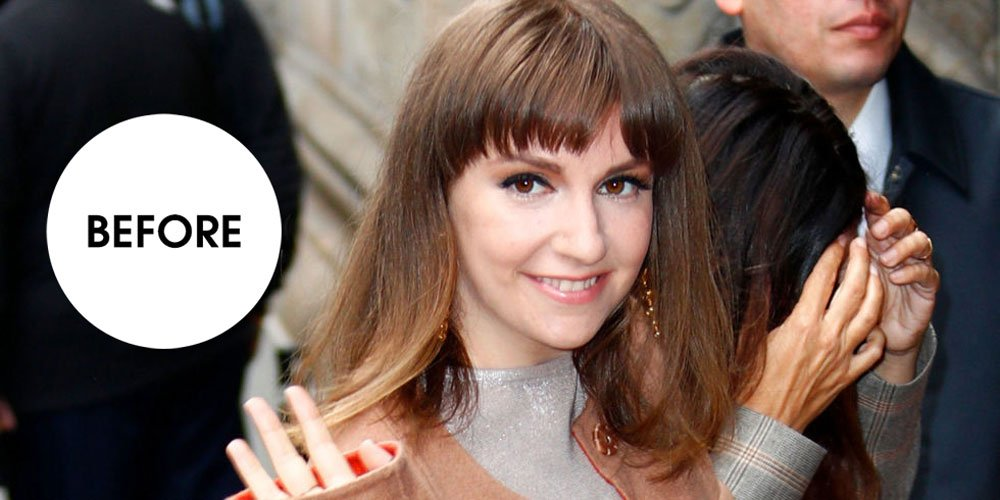 Lena Dunham just debuted a brand new pixie cut: ellemag.co/bvqkFC0?