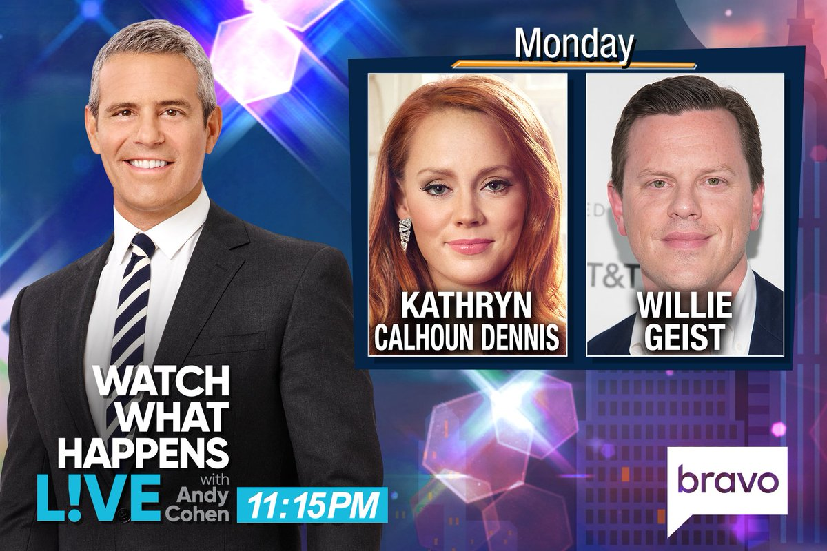 TONIGHT at 11:15PM we're LIVE w/ @WillieGeist & #SouthernCharm's @...