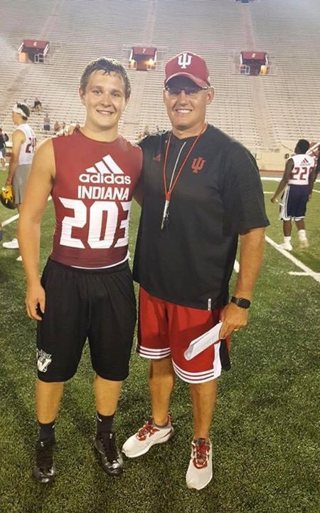S/O to Jr linebacker Andrew Ault for being recognized as one of the Top 5 Linebackers @HoosierFootball Camp! #HardWorkPaysOff <br>http://pic.twitter.com/dQWbrWIOCg