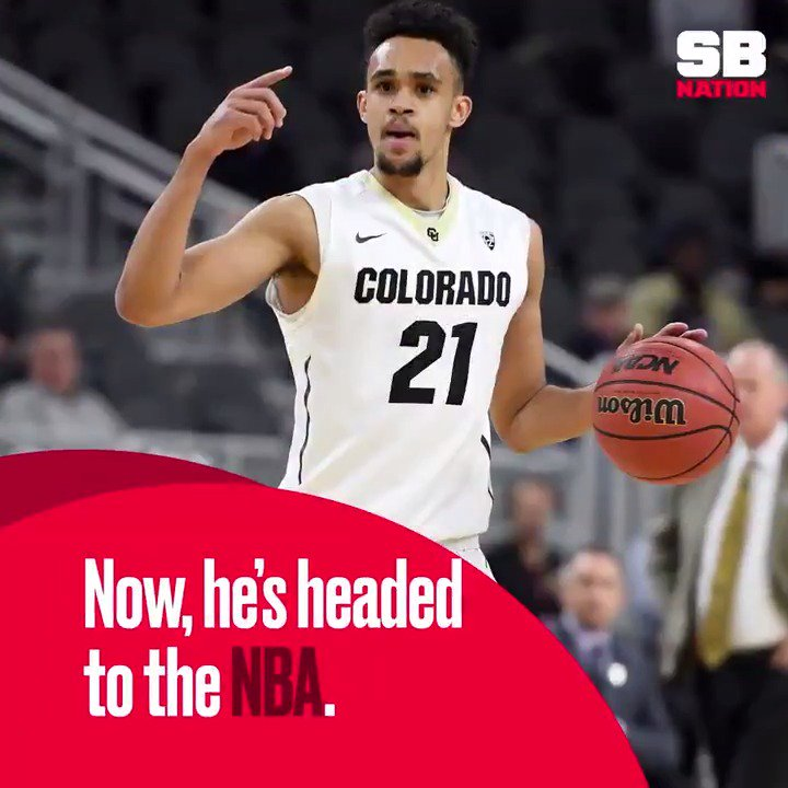 5 years ago, Derrick White couldn't even get a D-I offer.  Now he's go...