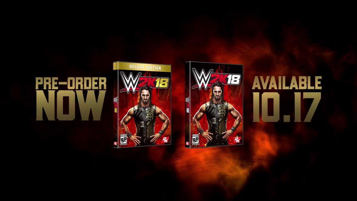 #BeLikeNoOne in #WWE2K18 featuring the COVER @WWE Superstar @WWERollin...