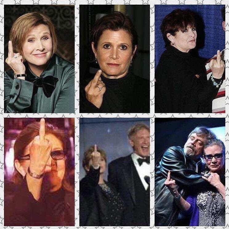 You know what they found in Carrie&#39;s system? Zero fucks. #CarrieFisher #legend #love #eternal <br>http://pic.twitter.com/Weq1OBoTcB