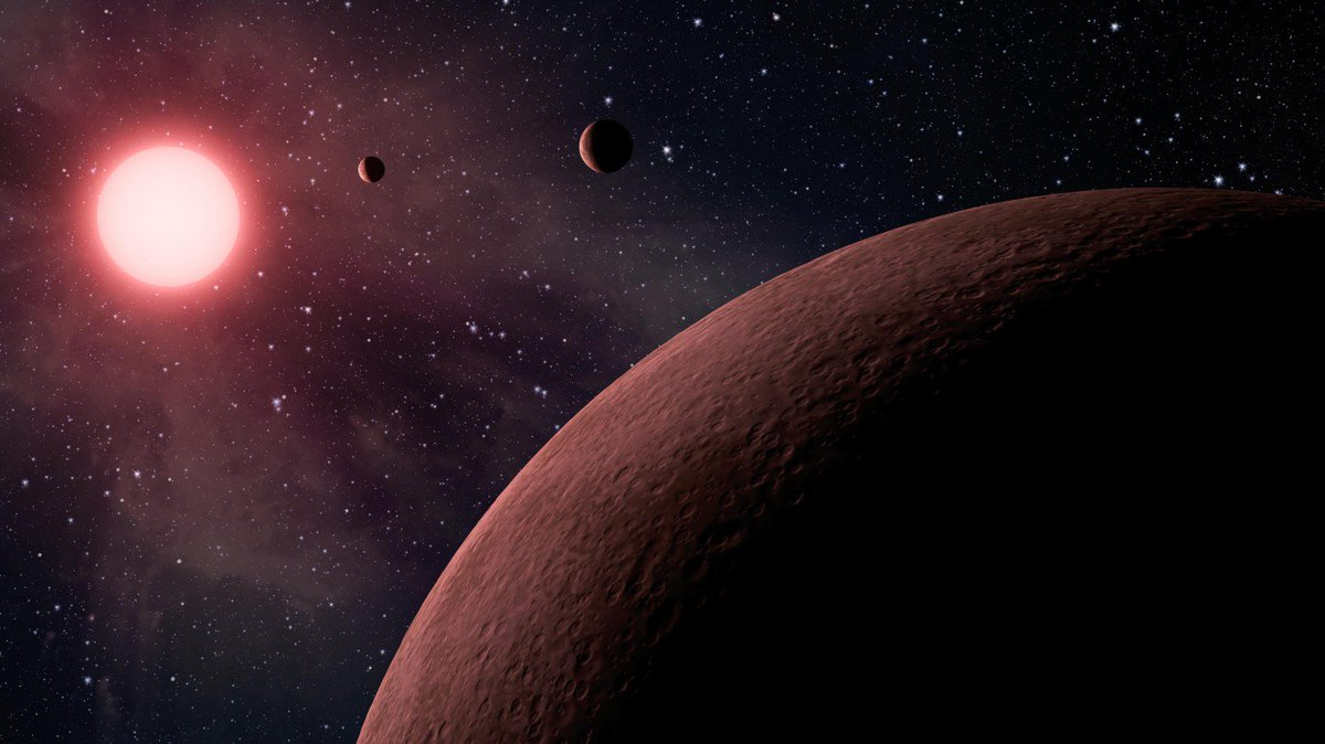 NASA astronomers have detected 219 possible new exoplanets in our galaxy, including 10 that could support life 🌍