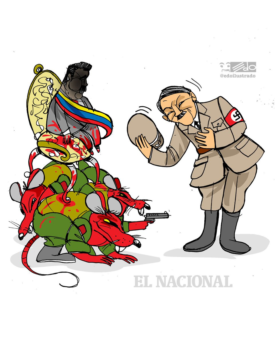 Caricatura EDO para @ElNacionalWeb ¡CHAPEAU!