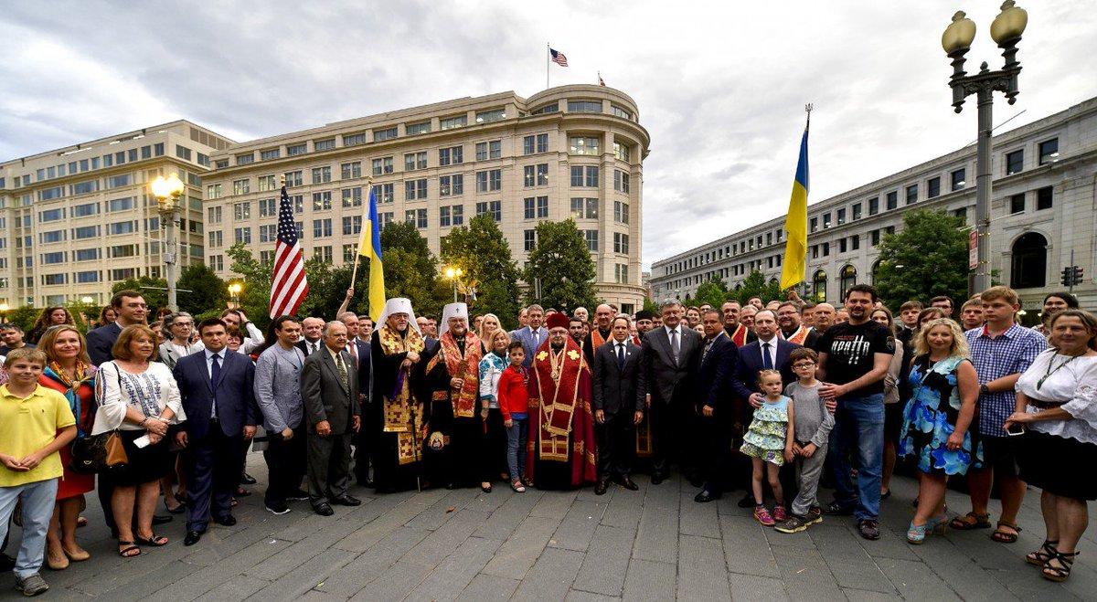 Порошенко почтил память жертв Голодомора у мемориала в Вашингтоне - Цензор.НЕТ 3456