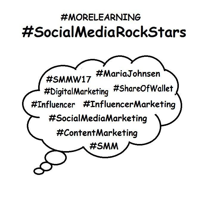 #SocialMediaRockstars  #SMM  #MariaJohnsen Digital Marketing / Influencer   http://www. maria-johnsen.com / &nbsp;  <br>http://pic.twitter.com/SY28wFeBd9
