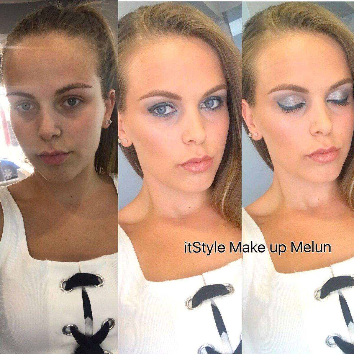 Before/after #itStylemakeup #makeup #beauty #beauté #Paris #melun #fashion<br>http://pic.twitter.com/XgZGFObpU8