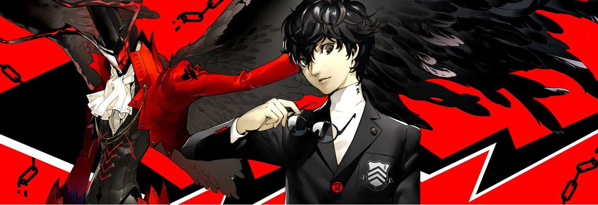 Persona 5 coming at ya! #Persona5 #P5 #Atlus #twitch #SupportSmallStreamers  http:// twitch.tv/hakujoumuse  &nbsp;  <br>http://pic.twitter.com/hLXNmyRsM5