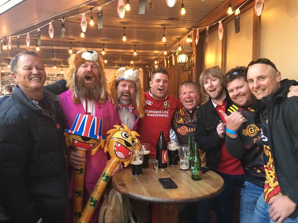 Lions + @ChiefsRugby = one terrific atmosphere ahead of #CHIvBIL in Ha...