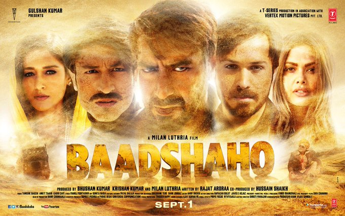 Here is the @Baadshaho teaser!! Hope you guys like it!  https://t.co/M1ZhLxtHb8 https://t.co/8d1SR5zWs3