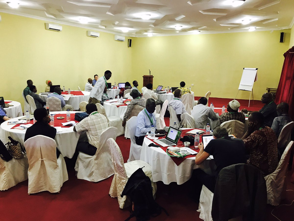 @IITA_CGIAR led #Cassava #agronomy at scale planning meeting where we present first outcomes of the @RTB_CGIAR @ScalingReady surveys<br>http://pic.twitter.com/JvLrHSEKwk