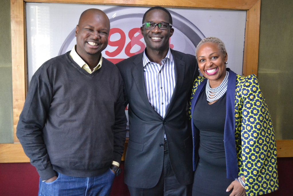 Thank you to @IEBCKenya CEO Mr. Ezra Chiloba for talking to us this morning about all things #Elections2017 <br>http://pic.twitter.com/1N1zu8LWCy