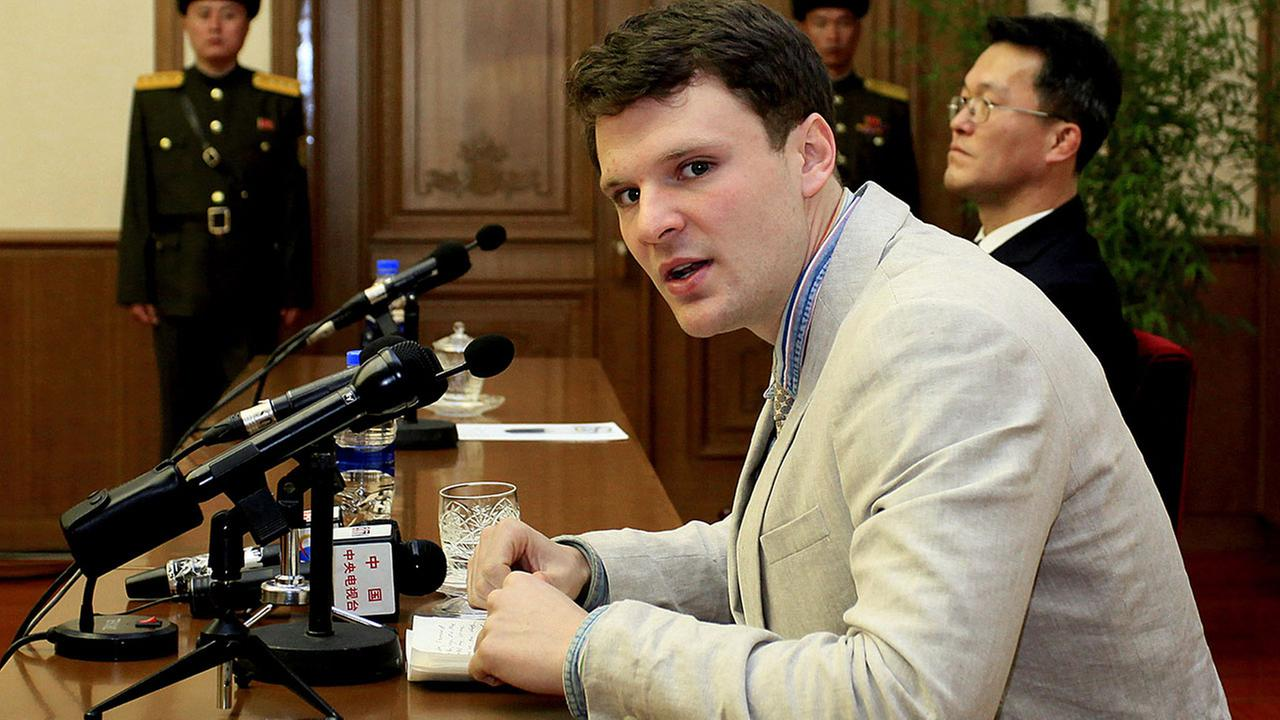 IMG OTTO WARMBIER, North Korea Detainee