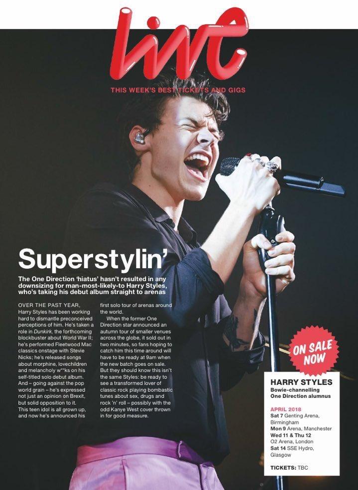 Harry on NME magazine!!!  #HarryStyles #Harry #Styles <br>http://pic.twitter.com/tIgjtQ4MZc