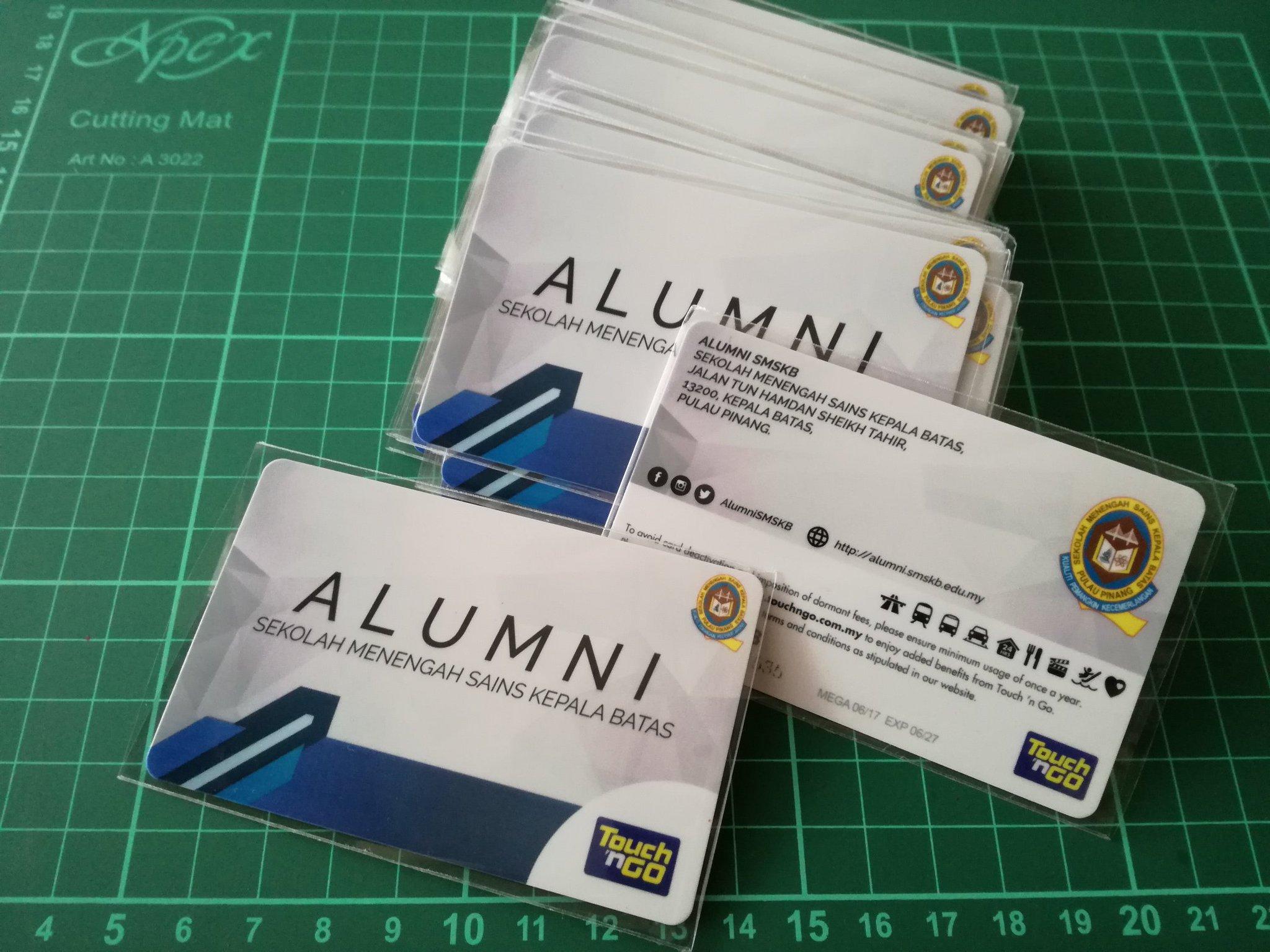 Alumni Smskb Di Twitter Kad Touch N Go Alumni Smskb Dah Siap Akan Pos Lepas Raya