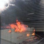 東陽町の隣のビルで大火災! pic.twitter.com/0q5hlbkjQ8