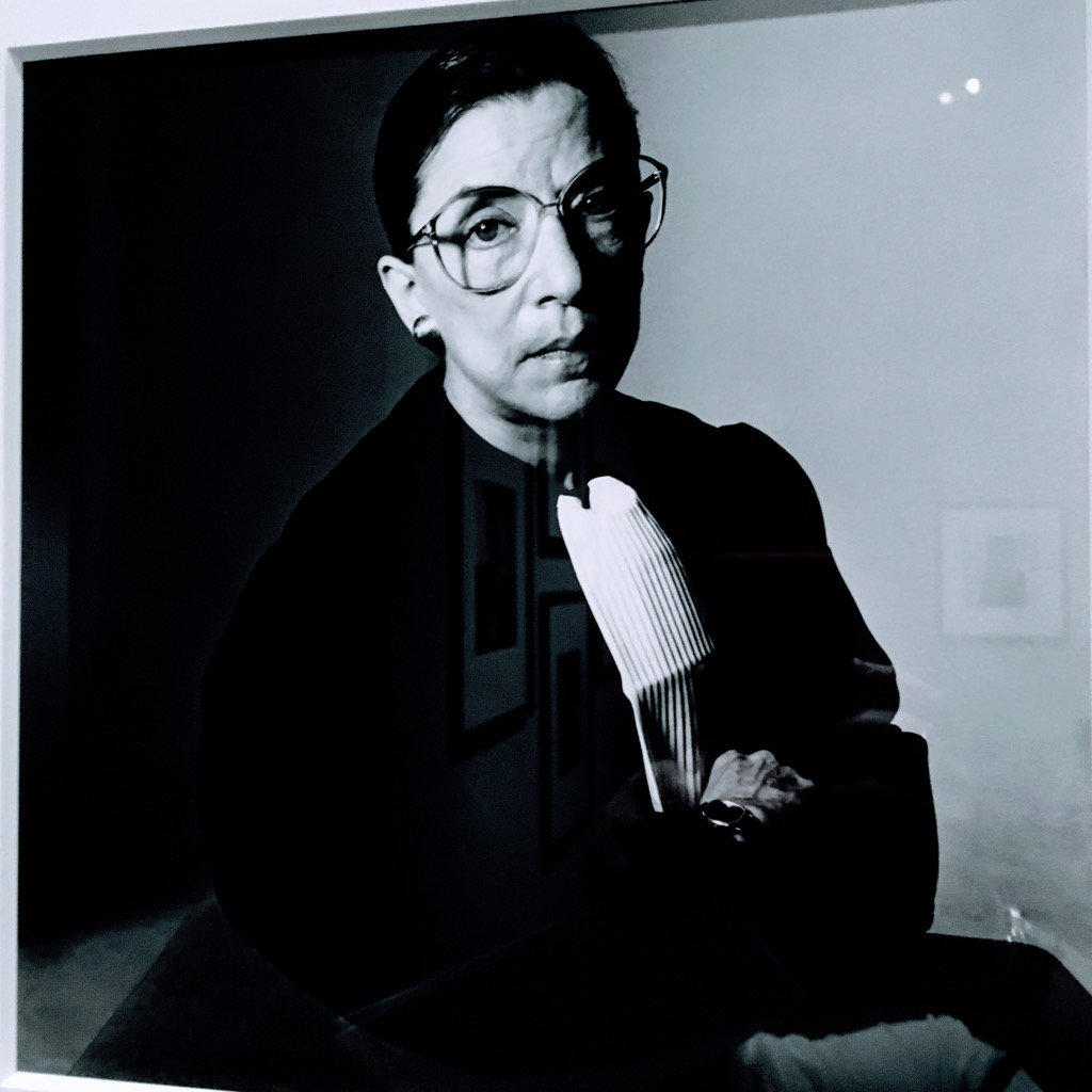 #NotoriousRBG in an Irving Penn portrait @Met reminds me we need justice in America now more than ever. #Rule <br>http://pic.twitter.com/TyxizSAH5I