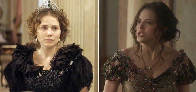 Novo Mundo: Leopoldina humilha Domitila, e a amante tem ataque de nervos > https://t.co/C8DOXmrWkG