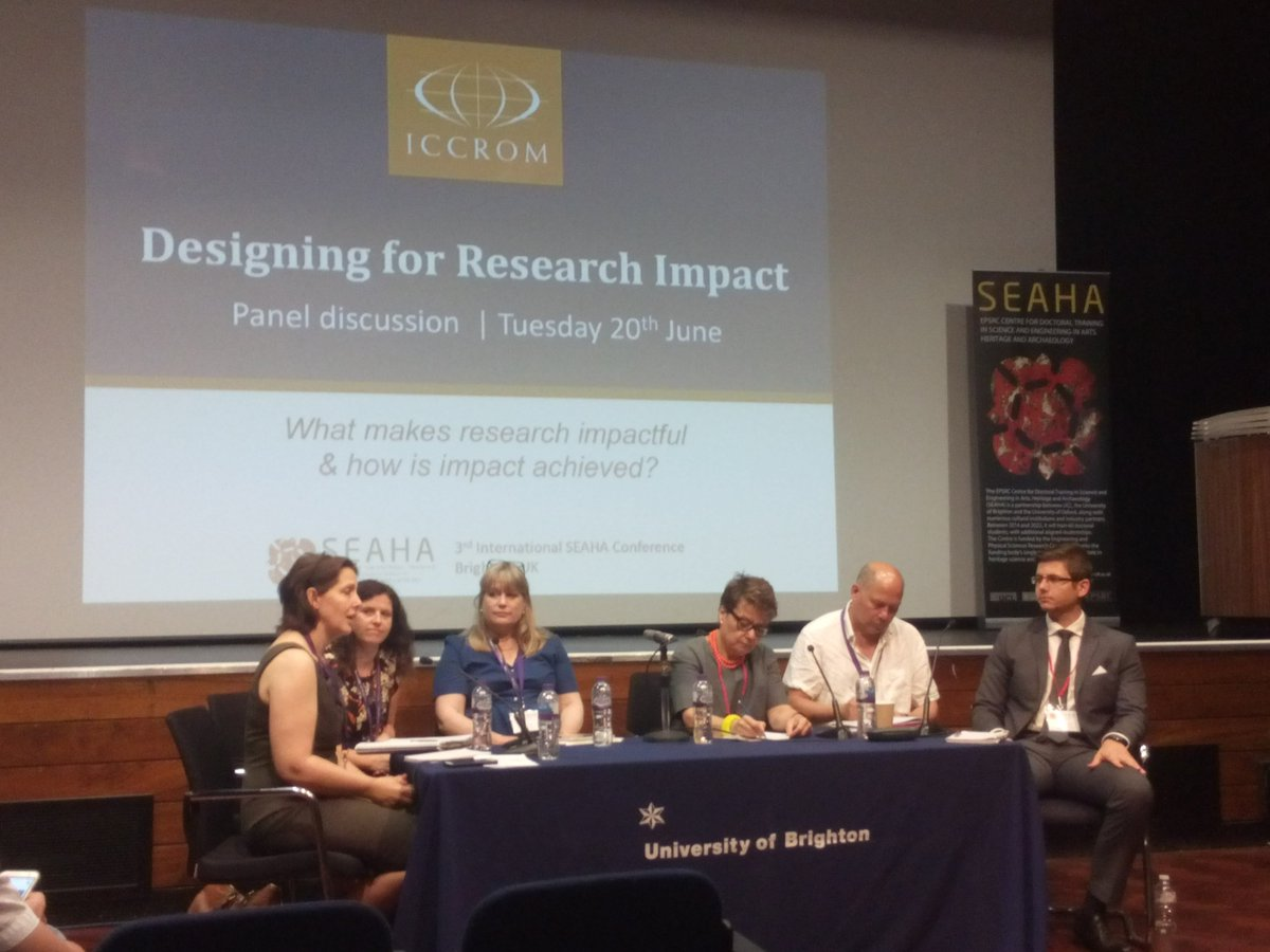 Excellent panel on #researchimpact : from one-way-street (research-communicate it) to co-production (ref.  http:// protopublics.org  &nbsp;  )<br>http://pic.twitter.com/OOH7VFAWbv