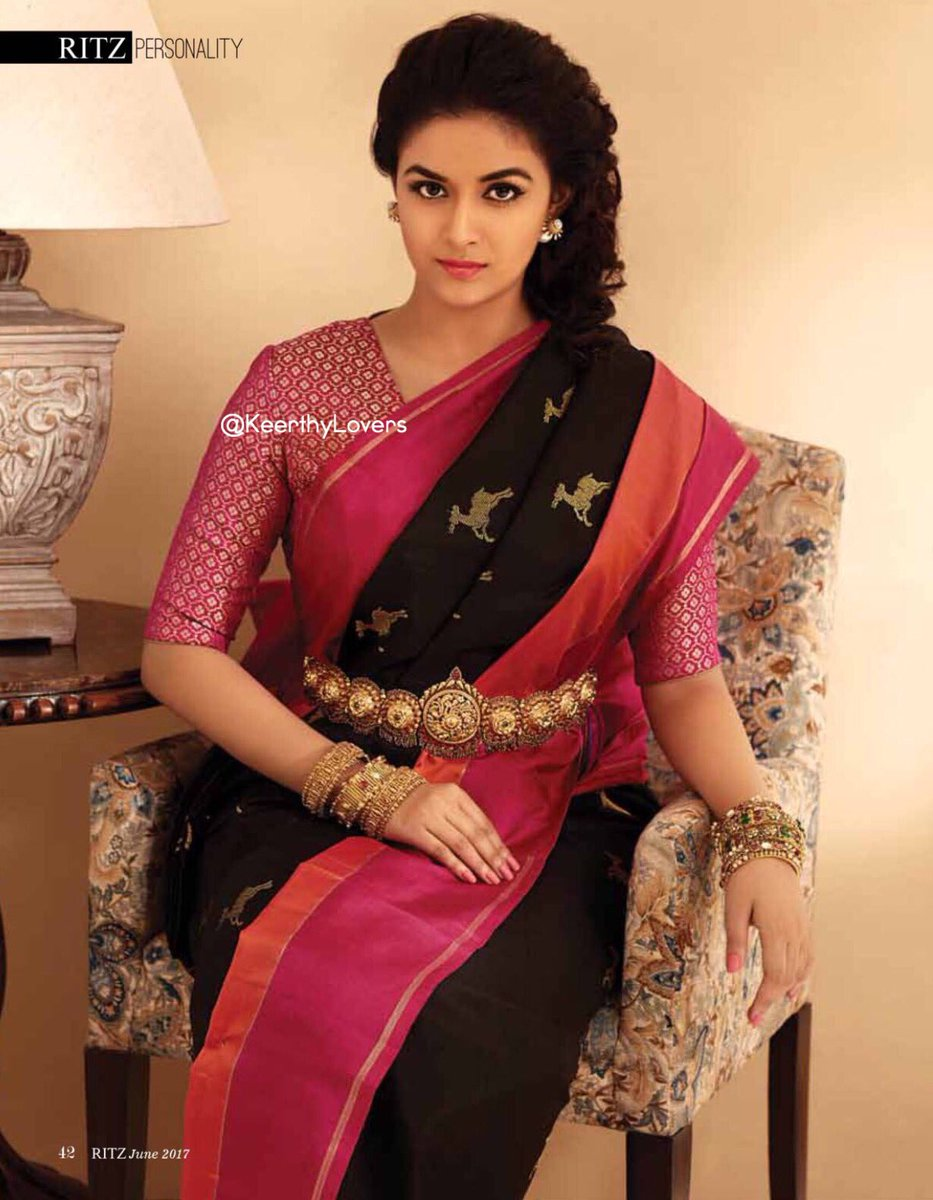 #Exclusive : HQ Set Of #RITZMagazine @KeerthyOfficial #KeerthySuresh Cover Photoshoot Pics <br>http://pic.twitter.com/qMw4ufbG90
