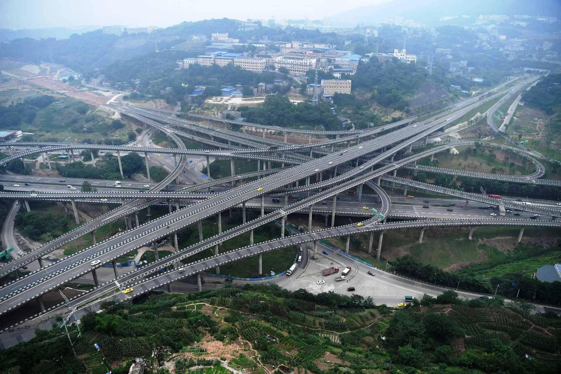 представить могла многоуровневые развязки в китае фото тяжелый