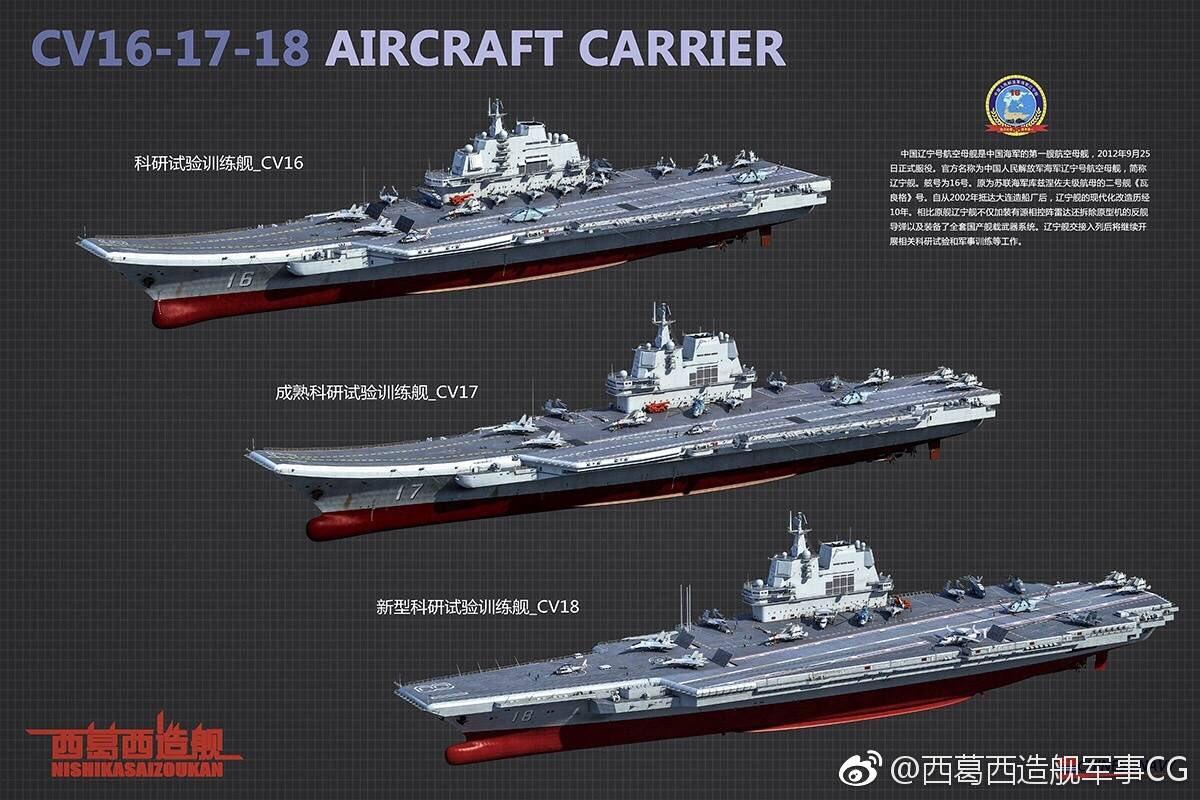 Китайский авианосец Тип 002