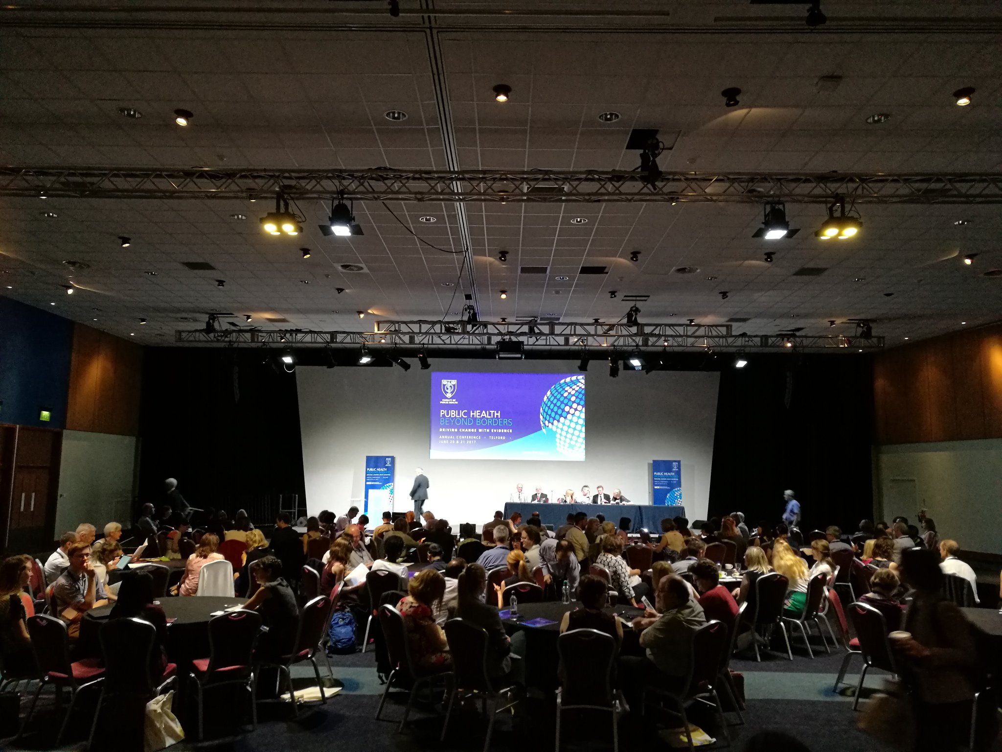 Opening plenary of the Faculty of Public Health annual conference #FPHconf @FPH https://t.co/AMhWjusQQX
