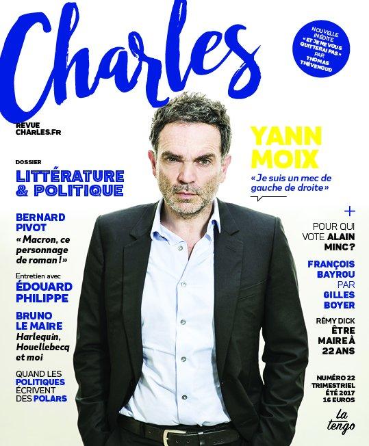 Demain sortie de @CharlesLarevue avec mon portrait de @bayrou et une itw d'@EPhilippePM pour le même prix