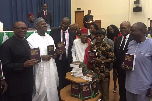 Ex-Governor of Anambra State, Peter Obi commended Prof. Ben Nwabueze for his contributions to institutionalisation, growth of democracy in Nigeria.