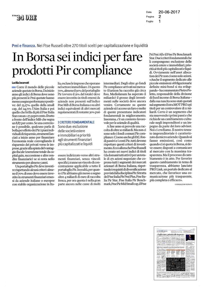 migliori offerte su offrire sconti prezzo più basso con Borsa Italiana on Twitter: