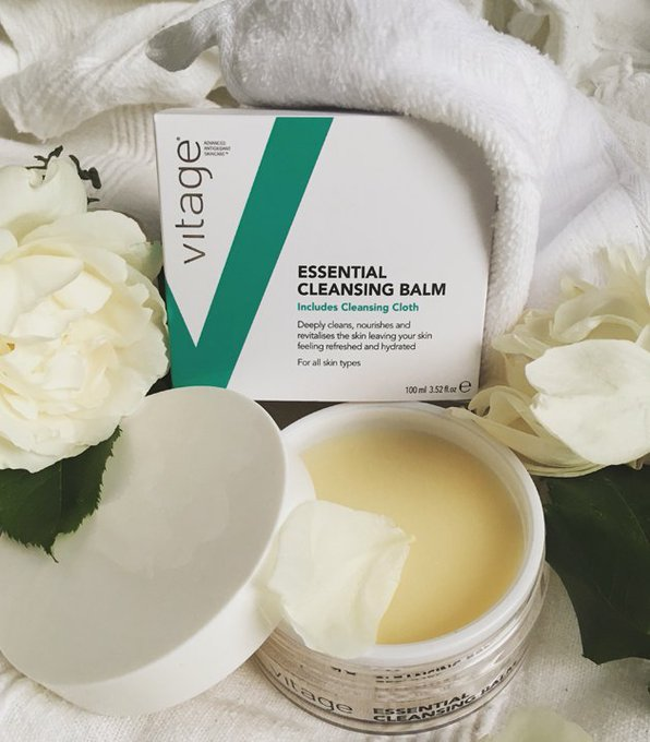 vitage launches Essential Cleansing Balm