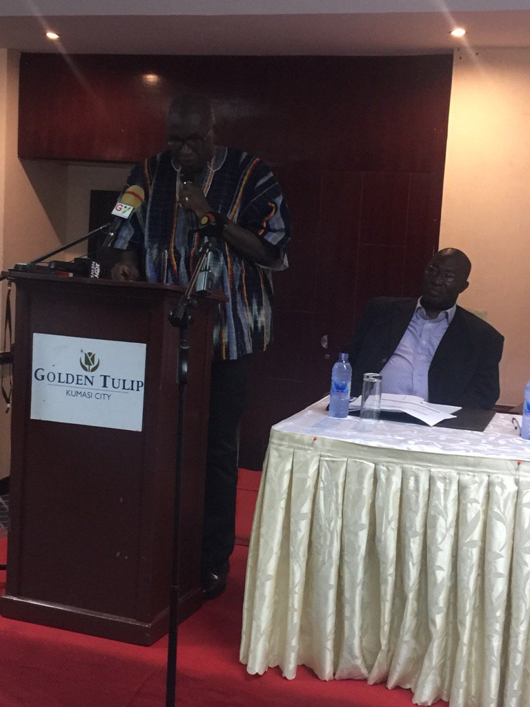 Hon. Min. Dery louds NPC in Consolidating Peace in Ghana. Uploads #UNDP as trusted Partner of Government @UNDPGhana<br>http://pic.twitter.com/pepRCEnlOF
