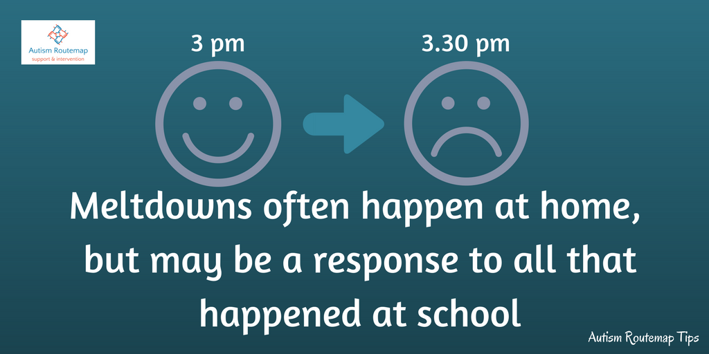 Autistic children often hold it together at school and then fall apart at home where they feel safe #Autism #Parents <br>http://pic.twitter.com/pFdts8pUPt