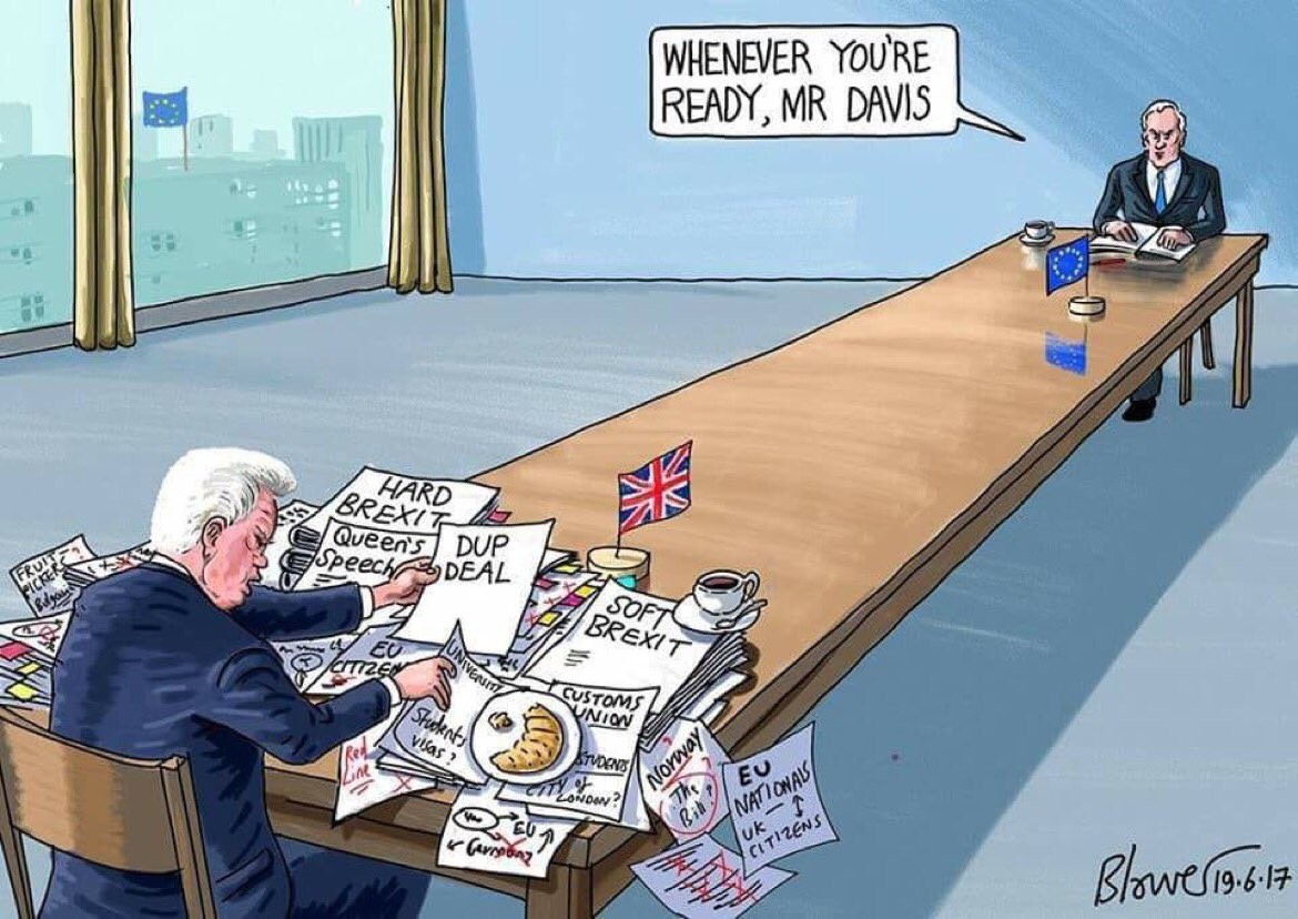 #BrexitNegotiations start with #Britain having no clue what it wants.... <br>http://pic.twitter.com/llfEmJq9UQ
