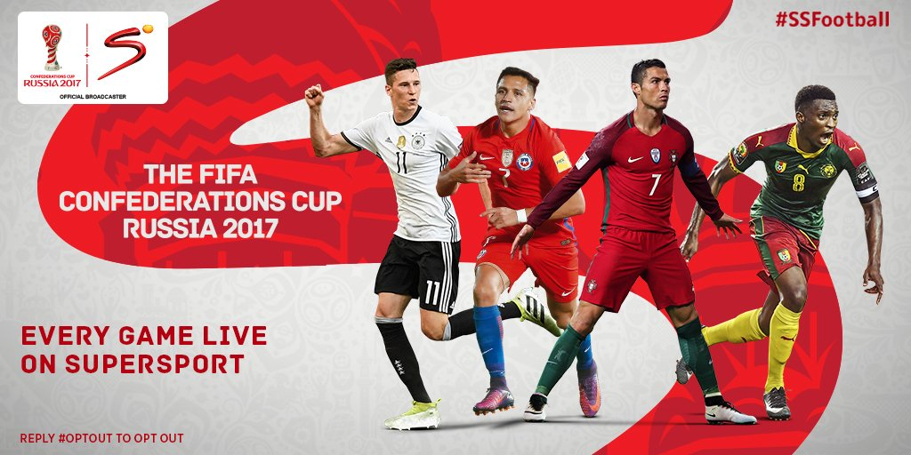 The action doesn't stop with #ConfedCup on SuperSport! Retweet this tweet to get football updates sent directly to you. #SSFootball