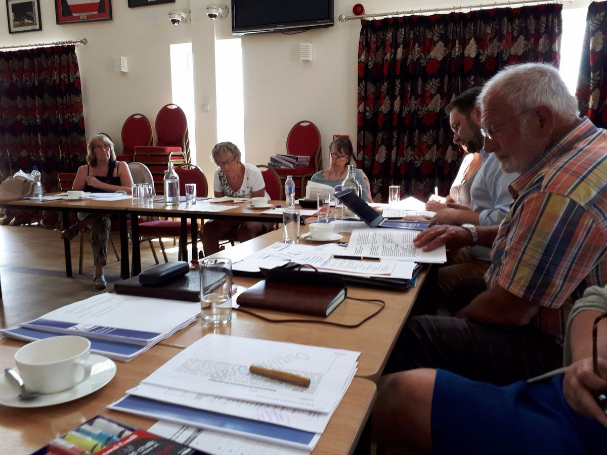 Our Visiting &amp; Engagement committee is also meeting today #planning #Visits #publicengagement #healthwatchdog<br>http://pic.twitter.com/8QNNbTknS6