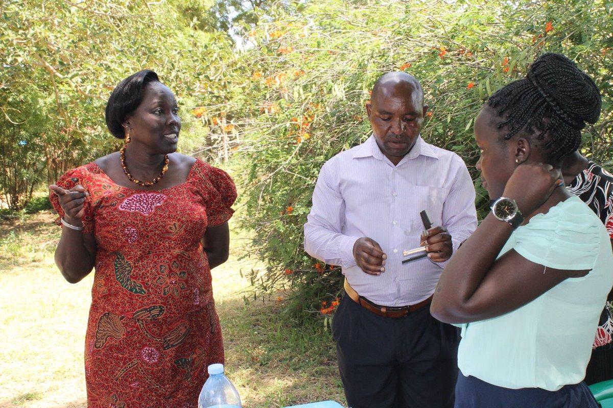 #Happening: ED @NIRA_Ug Judy Obitre-Gama made an impromptu visit to the BDAR team registering births in Adjumani #Refugee settlements<br>http://pic.twitter.com/16UmTaoLFL