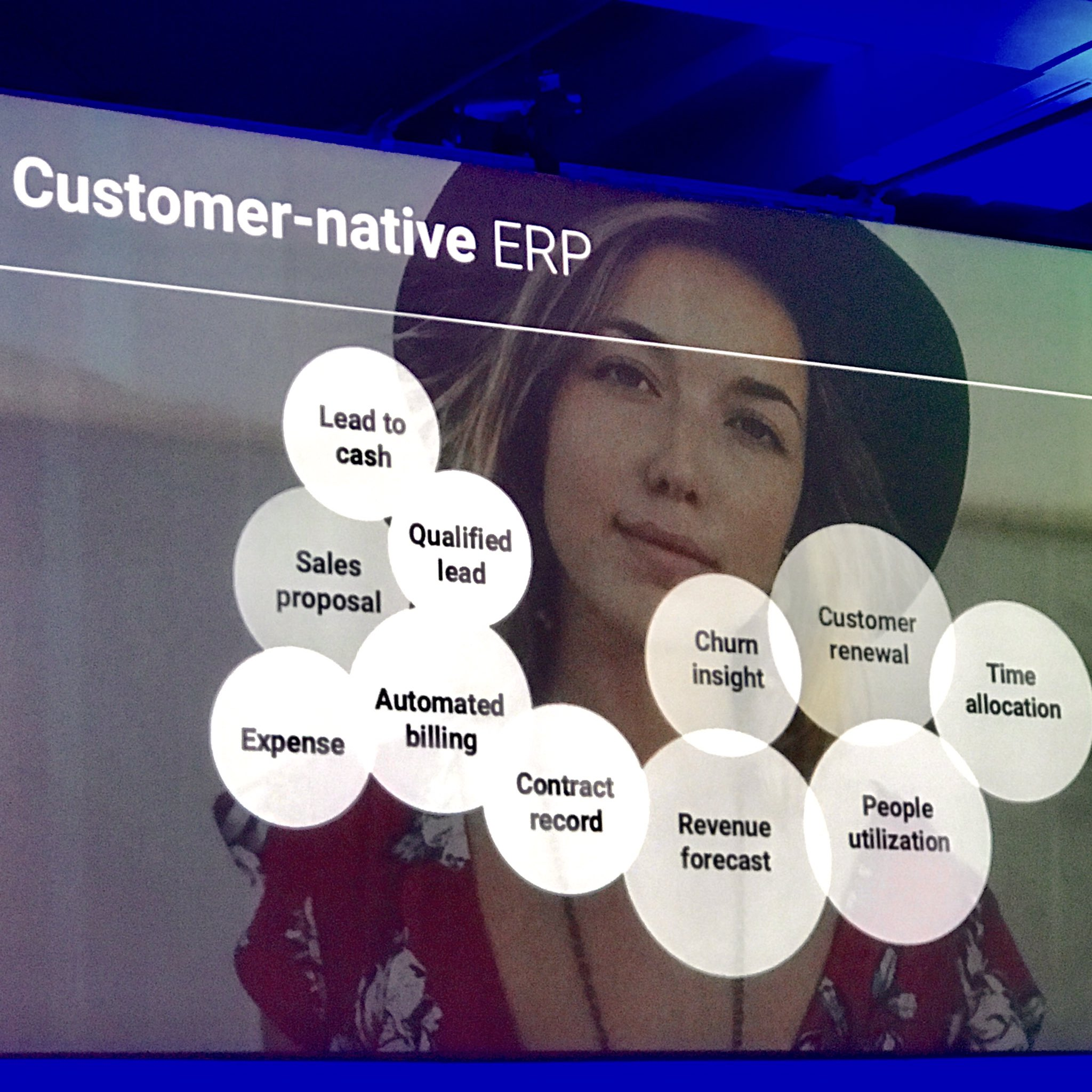 Model for customer native ERP moves from linear to organic model @FinancialForce #FFComm17 https://t.co/AYOmuxOooX