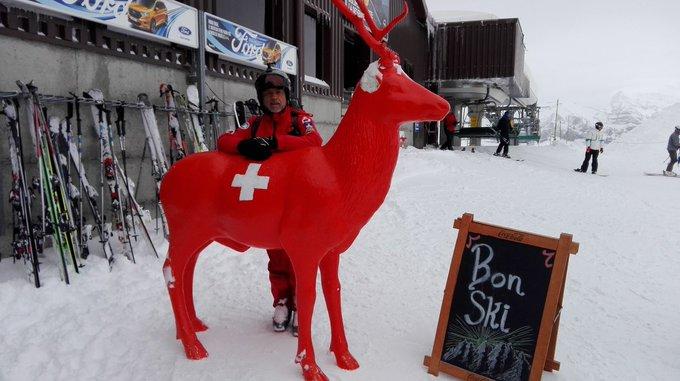 Passo Sella y cuantro amigos estuvieron en Les Portes du Soleil, uno de los dominios 🔝de los Alpes [REPORT] ➡️https://t.co/k6zJDLl0NV