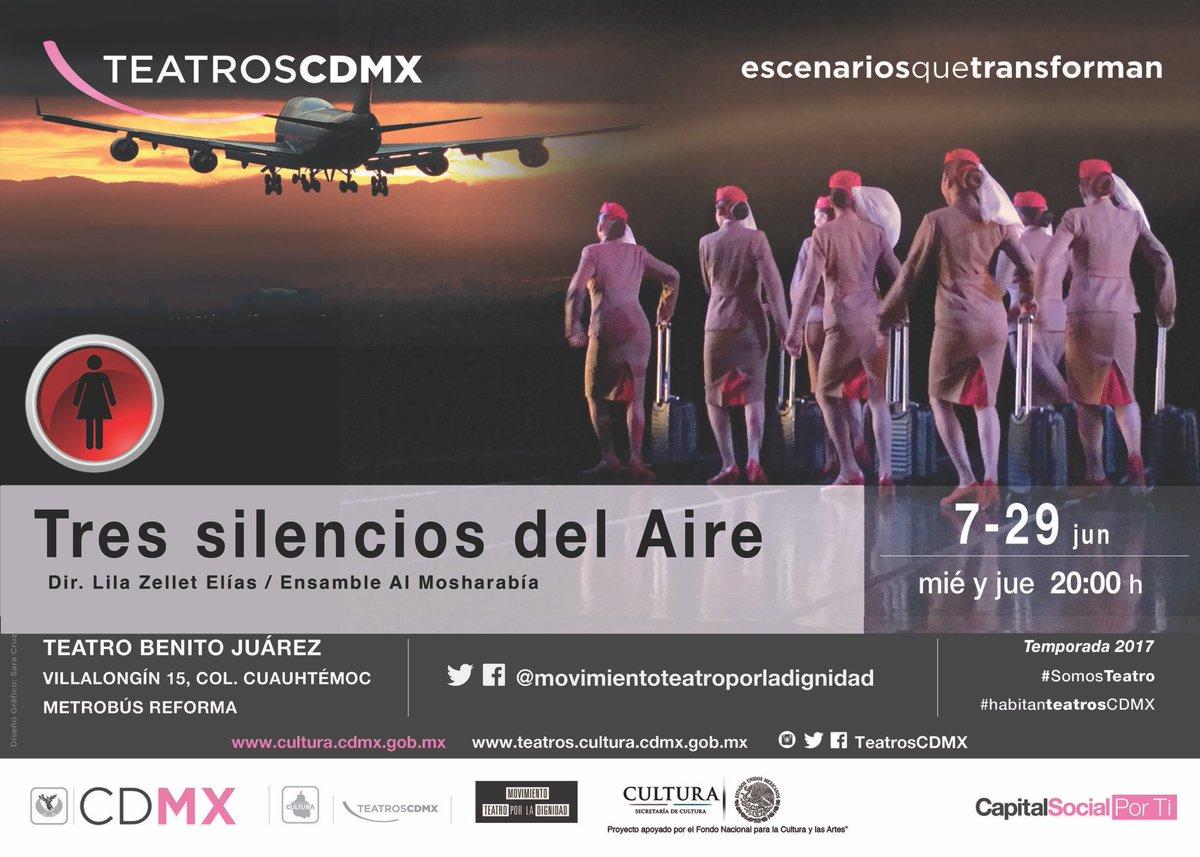 Tres silencios del aire es una obra coreográfica inspirada en las azafatas de Emiratos Árabes Unidos. Boletos en nuestro FB @laguiacdmx https://t.co/AVWRx8UgjV