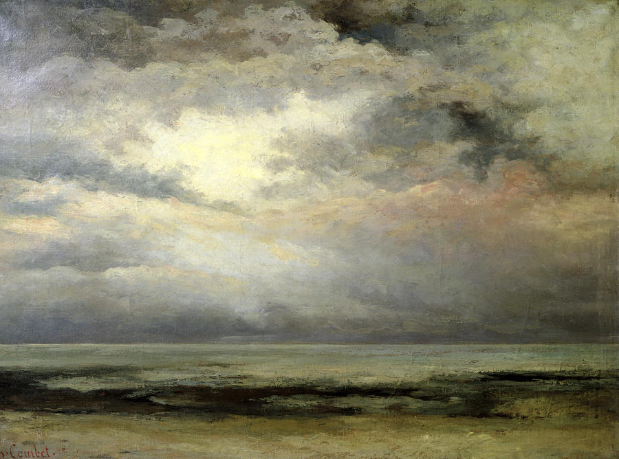 Gustave Courbet, Immensity #Courbet #painting #peinture <br>http://pic.twitter.com/u1yCQv6oh0