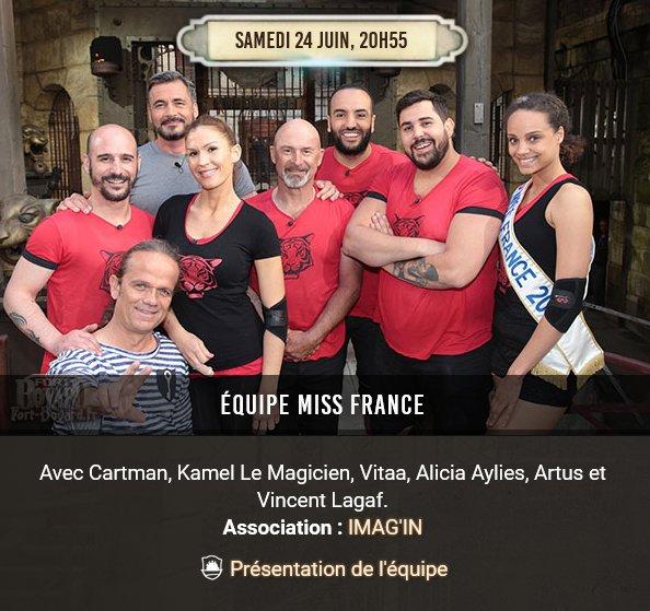 On se retrouve sur @France2tv demain samedi dans l'émission #FortBoyar...