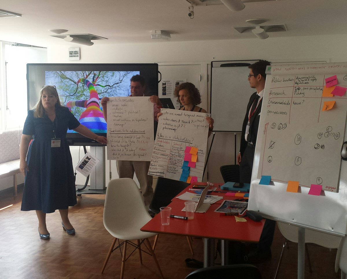 @ICCROM Designing 4 impact - group brainstorm on diversity and impact- who to involve and how? @seahaCDT #researchimpact #heritagescience<br>http://pic.twitter.com/62RbaCavoE